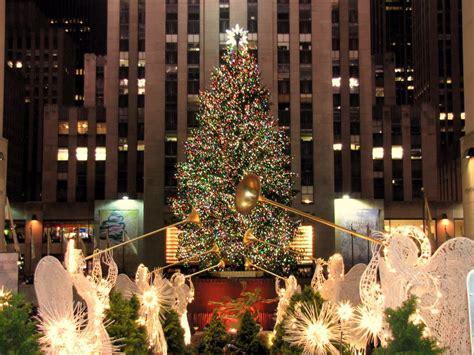 rockefeller center christmas tree wallpaper panoramio photo of rockefeller center at 2009 new york new york