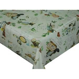Kitchen Table Cloths Tuscany Kitchen Vinyl Oilcloth Tablecloth Wipe Clean Tablecloths Table Protector Direct