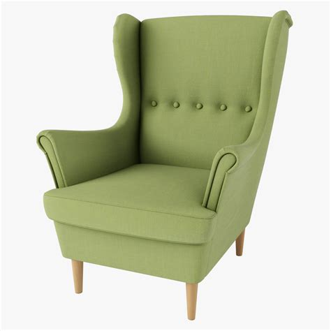 strandmon ikea strandmon chair ikea green 3d max