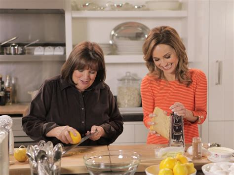 ina garten show cooking with friends in the kitchen with ina garten