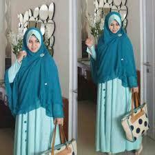Gamis Syahlaa 20 model baju muslim syari syahlaa untuk remaja terbaru
