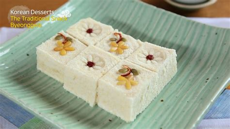 korean dessert sujeonggwa youtube korean traditional dessert byeonggwa youtube