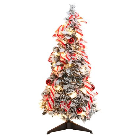 xmas trees frosted pull up 3 ft frosted pull up tree trees kimball