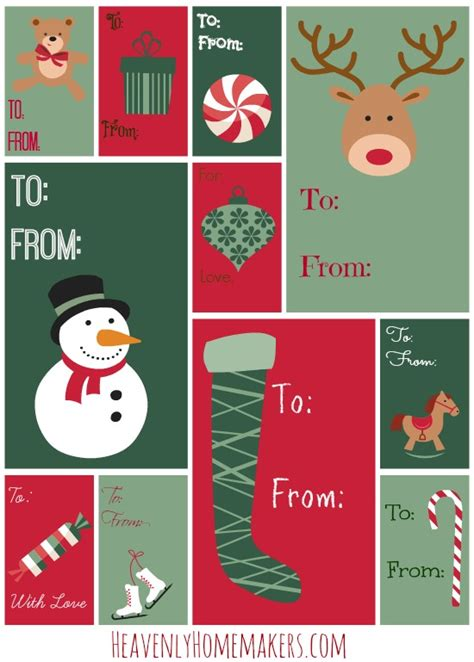 christmas gift tags download images