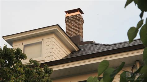 Chimney Protection - custom 2 stage protection copper chimney cap with standard