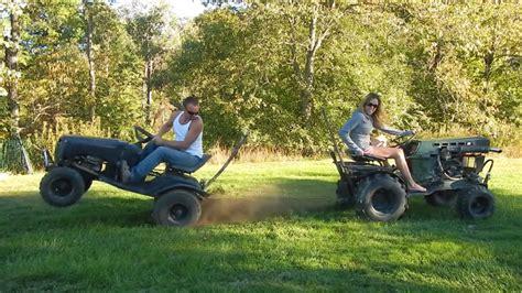 best lawn tractors the best lawn mower tug of war yet adventure crunch