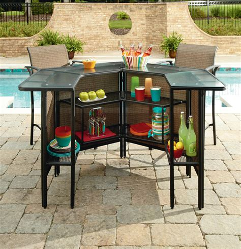 secondary living room outdoor bar sets