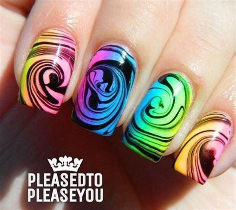 water pattern nails 18 unique water marble nail designs for 2016 pretty designs
