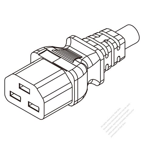 Konektor C13 Or C15 3 Pin iec 320 c13 connector angle wiring diagrams wiring diagram