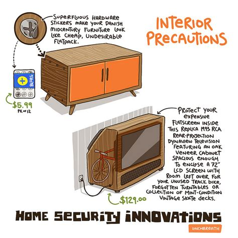 11 hilarious home security innovations