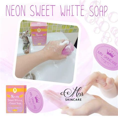 Gluta White Neon Lotion Pemutih neon sweet whitening soap by mn skincare thailand best selling products