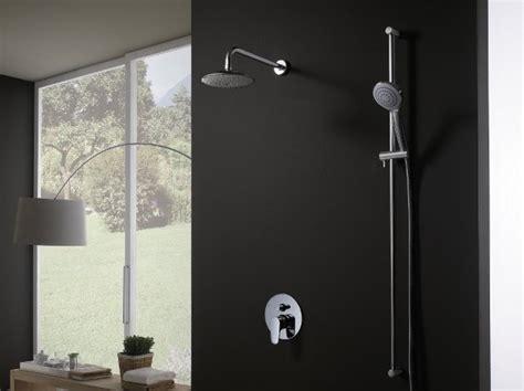 miscelatori per docce miscelatore per doccia monoforo collezione h2omix1000 by