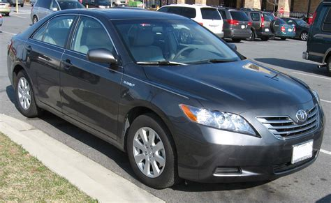 What Type Of Does A 2007 Toyota Camry Use File 2007 Toyota Camry Hybrid Jpg Wikimedia Commons