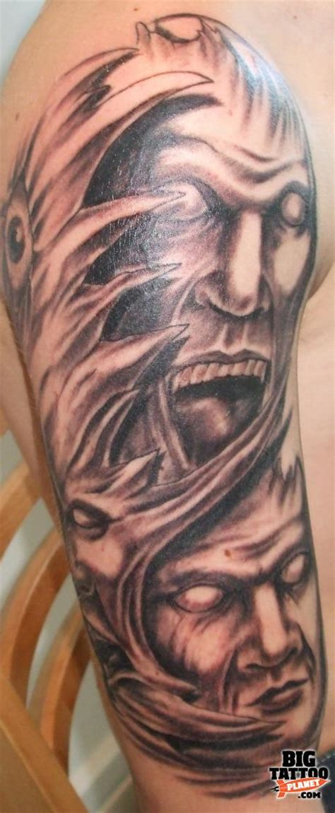 green devil tattoo studio black and grey tattoo big