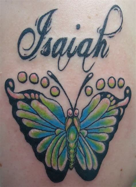 butterfly footprint tattoos butterfly foot print tattoos www imgkid the image