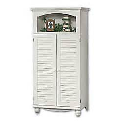 Computer Armoire White Sauder Computer Armoire 67 34 H X 33 34 W X 21 34 D Antiqued White By Office Depot Officemax