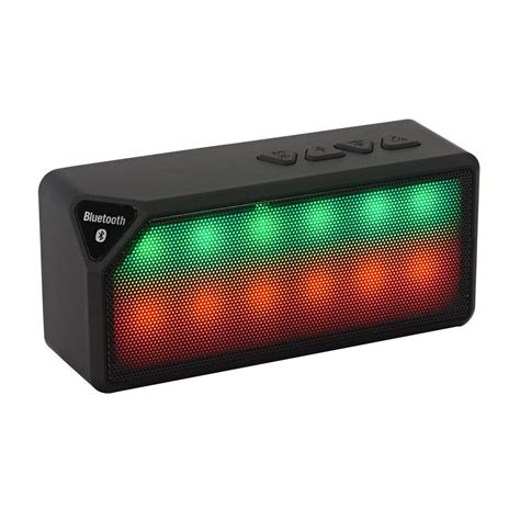 Speaker Bluetooth Icuans ipm icon bluetooth speaker black ipmiconpl bk the home depot