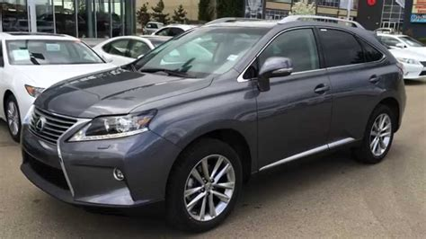 gray lexus rx 350 2015 lexus rx 350 awd grey on saddle tan touring