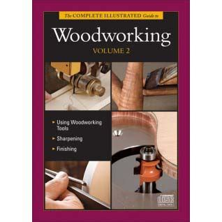 rom woodworking complete illustrated guide to woodworking vol 2 cd rom