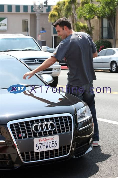 Ben Affleck To Sell Car From by Ben Affleck In His Audi S8 Parking Tickets Make Him