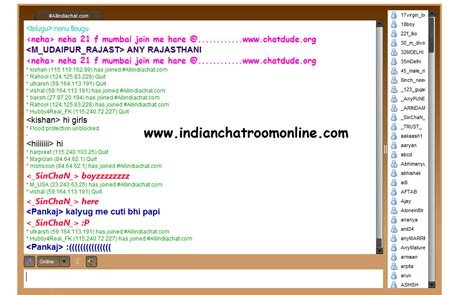 India Chat Room by Indian Chat Room