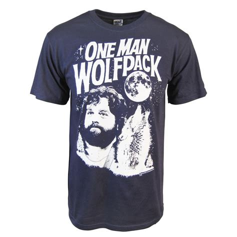 Tshirt Wolfpack honcho sfx mens hangover one wolfpack t shirt blue