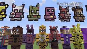 Minecraft xbox one edition fnaf statues 1 4 video dailymotion