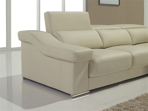 Pullout Sofas by T136 Modern Brown Leather Sofa W Pull Out Sofa Bed