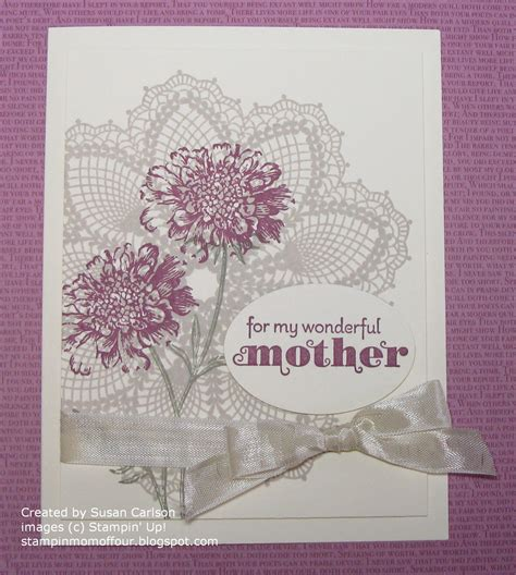 mom cards stin mom of four mom s birthday card