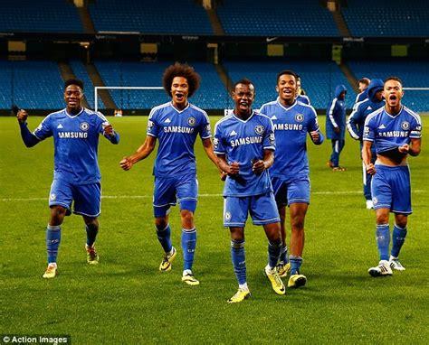 Chelsea U21   man city u21 1 1 chelsea u21 aet 4 5 on pens jamal