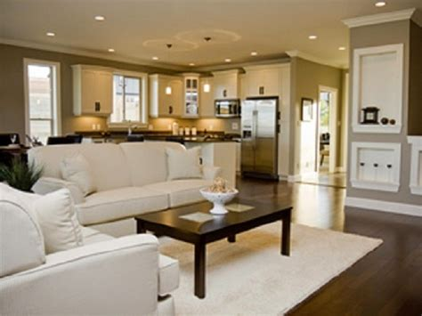 small open floor plan kitchen living room open space kitchen and living room home decorating ideas