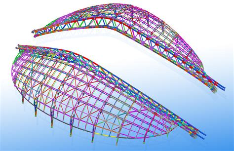 House Modeling Software smooth shape means challenges sochi olympic stadium roof
