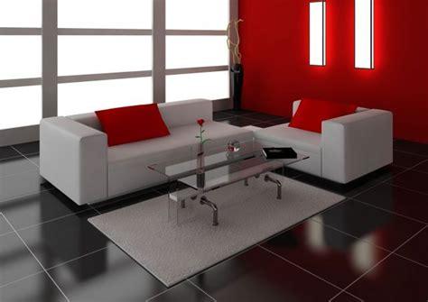 como decorar una casa con pisos oscuros decorar sal 243 n en rojo negro y gris suelo oscuro casa