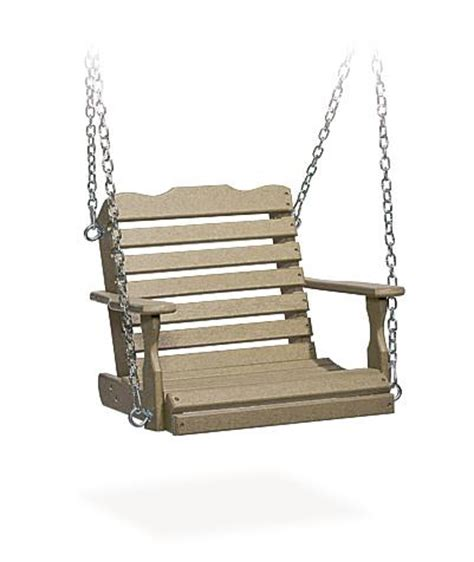 childs outdoor swing child s poly tree swing from dutchcrafters amish furniture