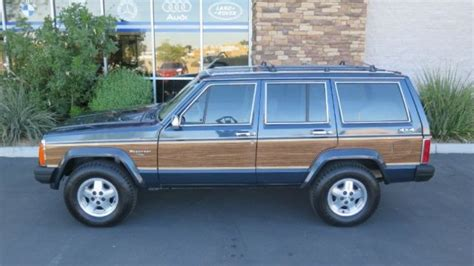 1989 jeep wagoneer limited 1989 jeep wagoneer limited 4dr wagon 4wd 80246 miles blue