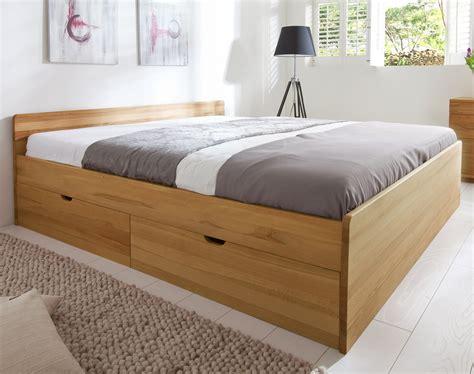 schubkästen bett schubkasten doppelbett aus buche oder kiefer bett norwegen