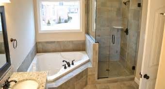 stand up shower tub decorating ideas