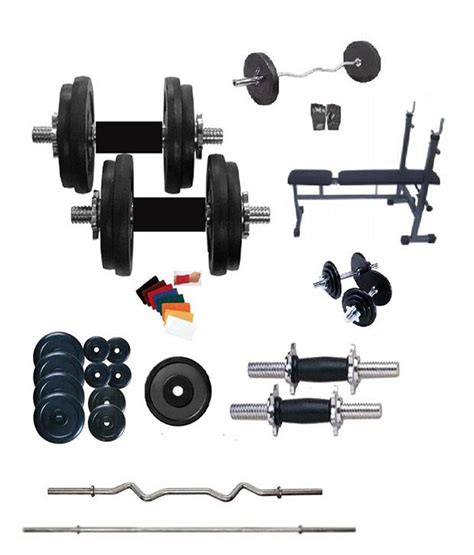 fit 100 kg weight lifting home 4 rods 1 curl