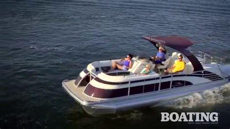 bennington pontoon boat test 2016 bennington 2575 qcwa io 25 pontoon boat test youtube
