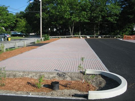 demonstration 3 permeable paving materials and bioretention in a parking lot mass gov