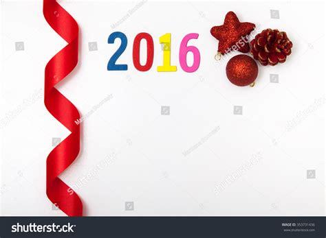 new year 2016 white background 2016 happy new year on white background stock photo