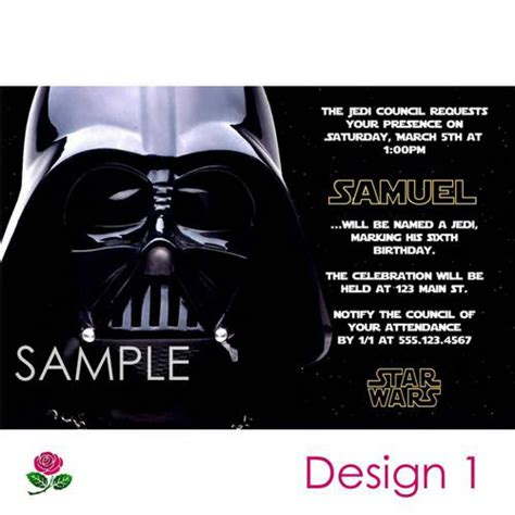 printable invitations star wars star wars party invitations free printable 5 enrique