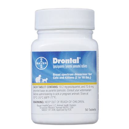 Drontal For drontal tablets for cats 1800petmeds