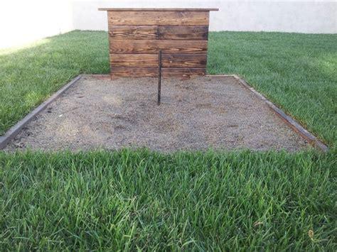 backyard horseshoe pit 33 best horseshoe pit design ideas images on pinterest