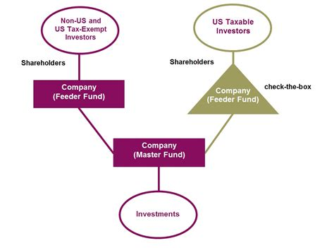 master feeder structure diagram launching a us feeder fund