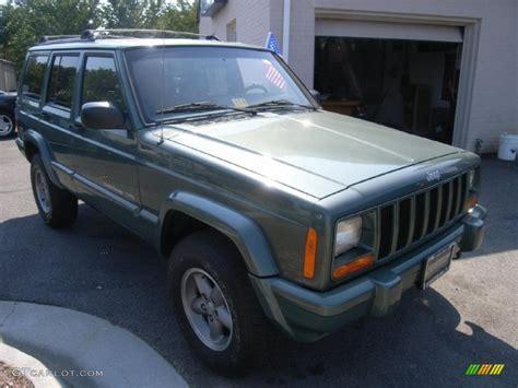 2000 jeep classic 2000 medium fern green metallic jeep cherokee classic 4x4