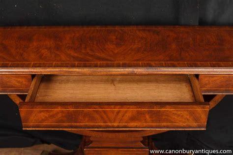 laketon walnut sofa table regency walnut console table sofa tables ebay