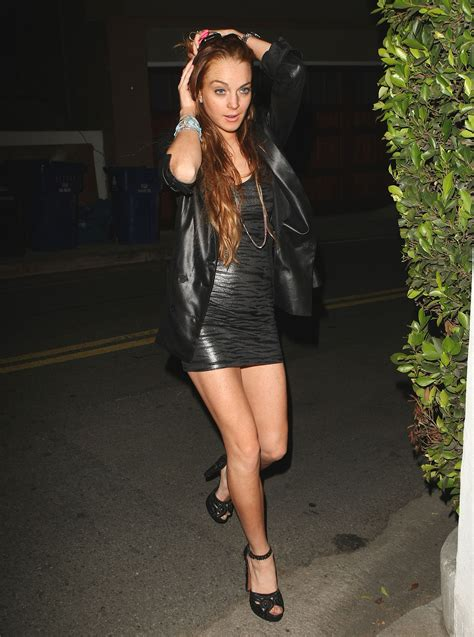 Lace Pumps A La Lindsay Lohan by Photos Of Lindsay Lohan And Seacrest In La Popsugar