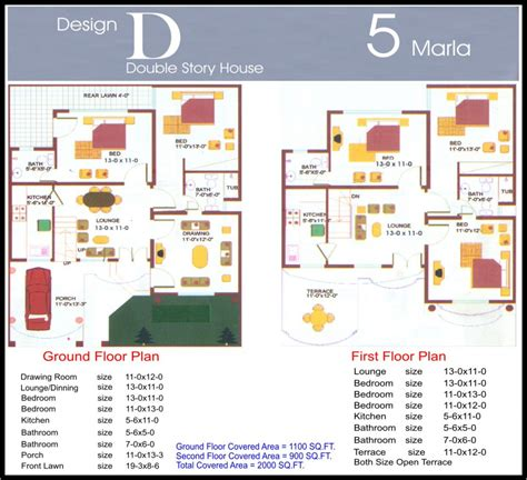 kerala home design 5 marla 5 marla design d final civil engineers pk