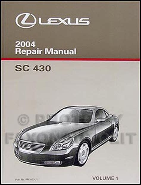 car owners manuals free downloads 1993 lexus sc instrument cluster service manual free 2010 lexus sc repair manual download car manuals pdf free 2007 lexus sc